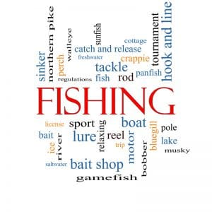 fishing terms