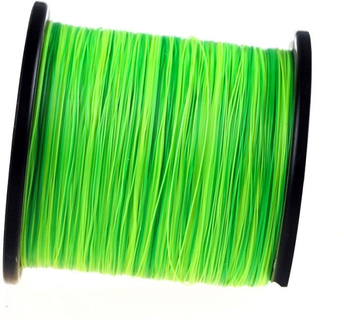Green fishing line