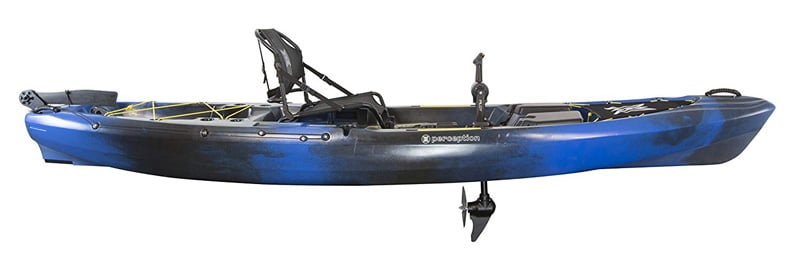 Perception Kayak Pescador Pilot 12 Fishing Kayak