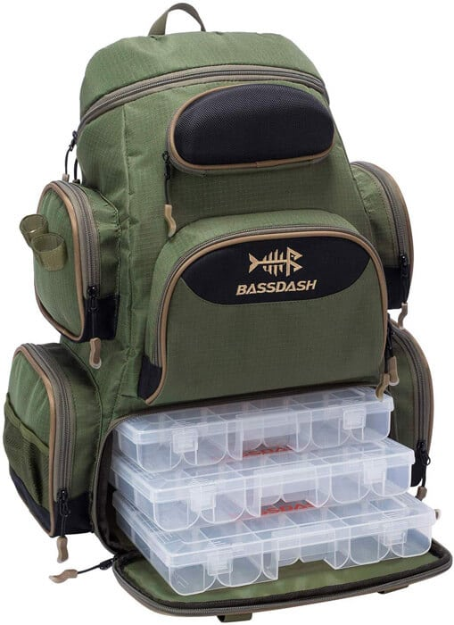 BassdashFishing Tackle Backpack
